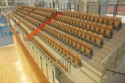 športová hala drevené sedadlá pre športoviská prostar