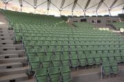 prostar sklopné sedačky pre štadióny arena pozinkované konštrukcie