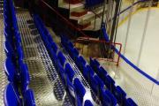 sklopné sedačky pre tribúny rewia prostar stojaca konštrukcia
