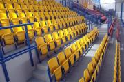 prostar sklopné sedačky pre štadióny arena stojaca konštrukcia
